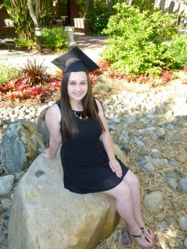 Me as a college graduate!