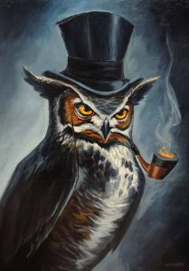 sophisticated_owl_by_adlovett-d6nu84t