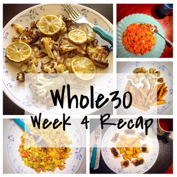 Whole 30 Weekly Recap | So It Must Be True