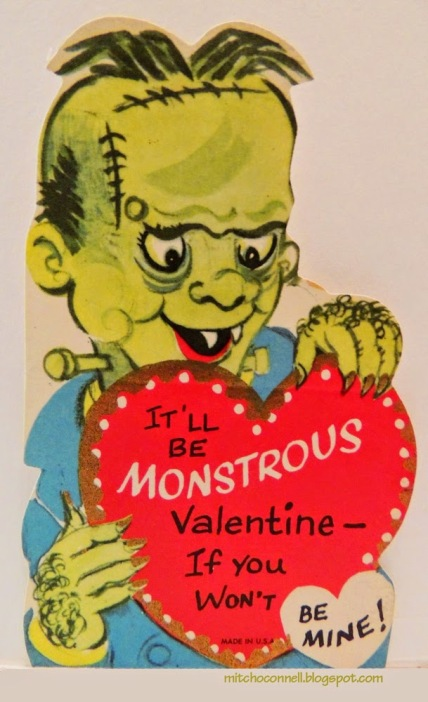 Strange and Unintentionally Funny Vintage Valentine's Day Cards  (1)